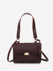 Top Handle Flap Crossbody Bag -