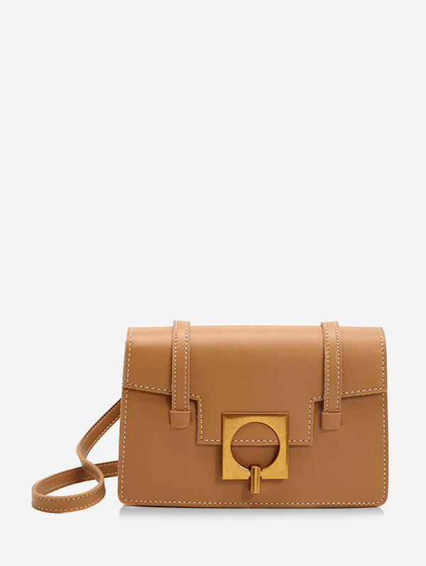 Best Square Buckle Flap Crossbody Bag