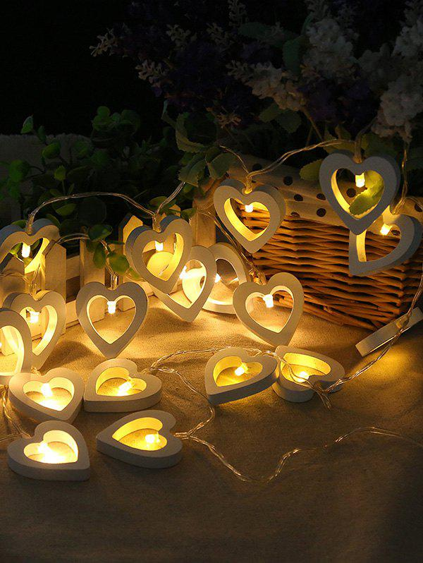 Cheap Heart Shape Decorative Wedding LED String Lights