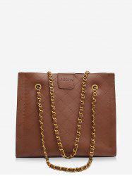 Square Rhombic Chain Tote Bag -