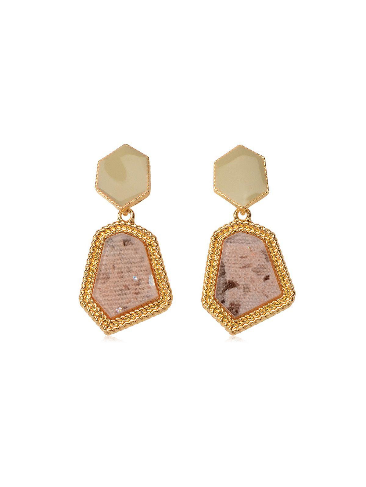 Fashion Irregular Geometric Layered Earrings