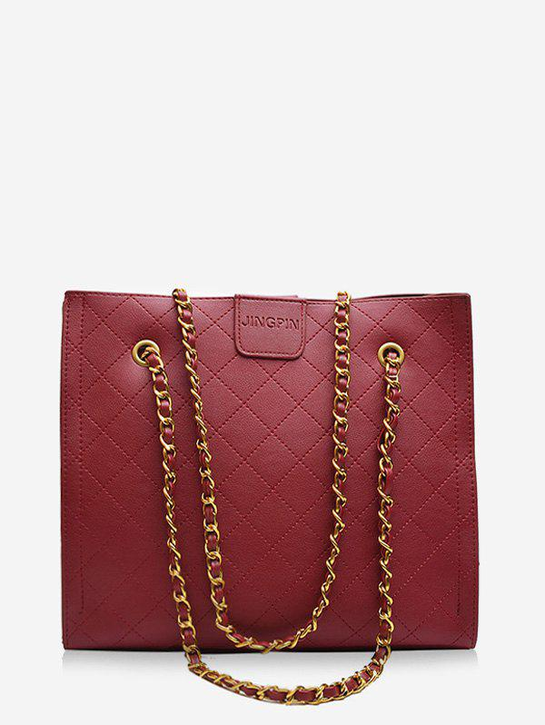 Outfits Square Rhombic Chain Tote Bag
