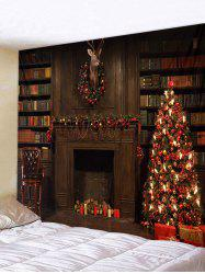 Christmas Gift Tree Pattern Tapestry -