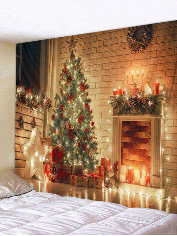 Decoration | Christmas | Tapestry | Light | Print | Hang | Tree | Star | Wall | Art