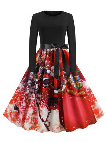55 Off Floral Vintage Fit And Flare Midi Dress Rosegal