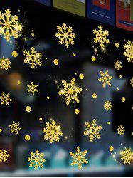 Christmas Snowflake Wall Sticker Set -
