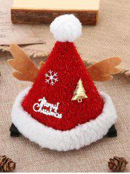 Christmas Accessories Tree Snowflake Letter Print Christmas Hat -