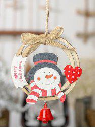 Wreath Bell Christmas Tree Hanging Decoration -