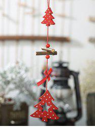 Wooden Christmas Tree Hanging Decoration -