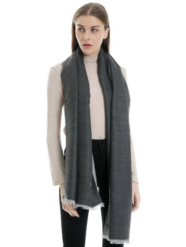 Affordable Faux Cashmere Double-sided Two Tone Scarf