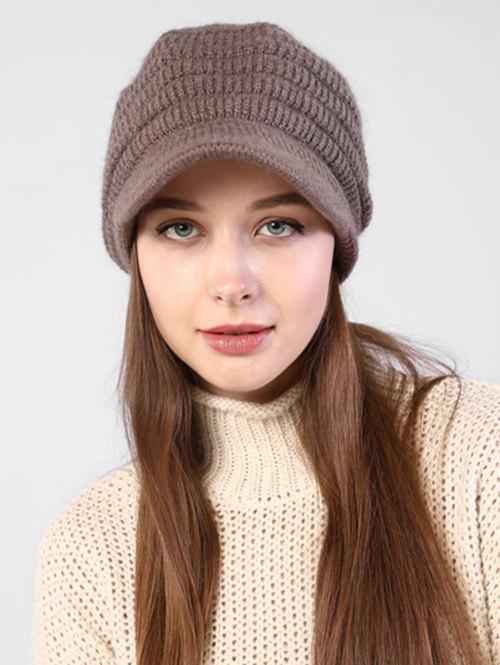 Best Knitted Winter Soft Beret Peaked Hat