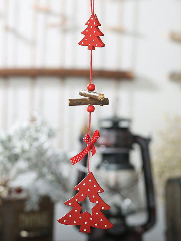 Sale Wooden Christmas Tree Hanging Decoration