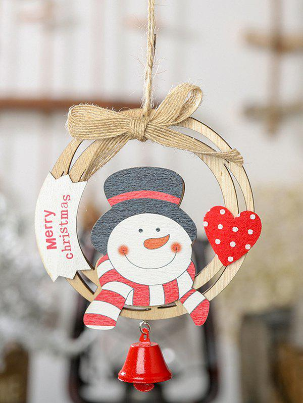 Outfit Wreath Bell Christmas Tree Hanging Decoration