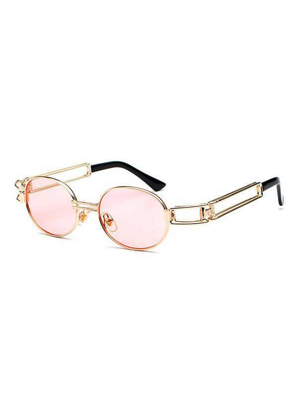Best Retro Round Design Alloy Frame Sunglasses