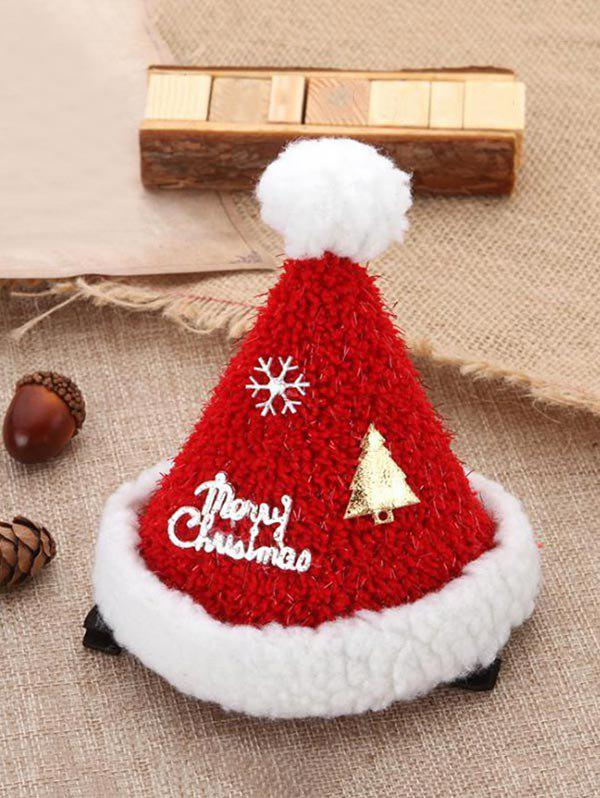 Outfit Christmas Accessories Tree Snowflake Letter Print Christmas Hat