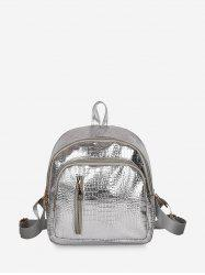 Simple Solid Soft Casual Backpack -