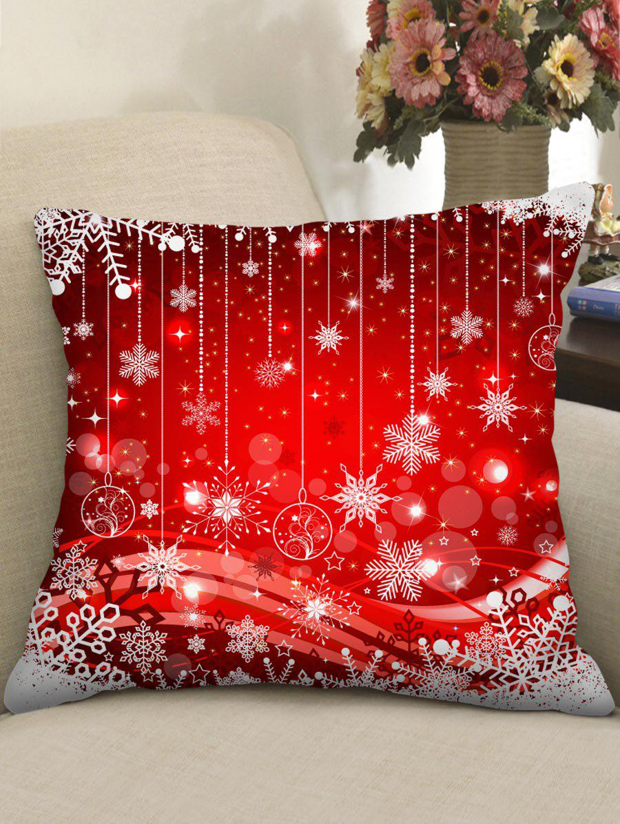 Buy Christmas Print Throw Pillow Case