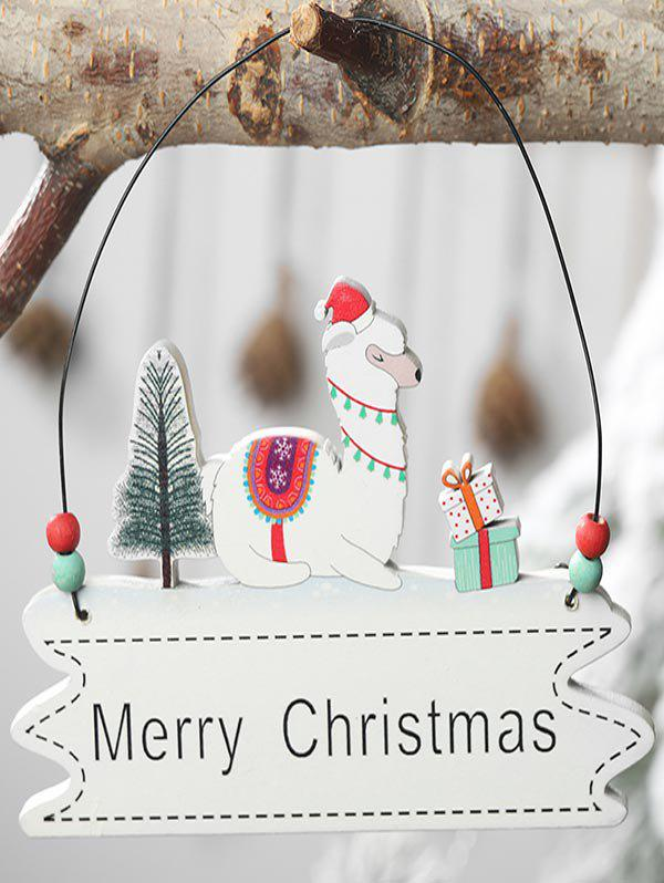 Hot Merry Christmas Tree Sheep Hanging Decoration