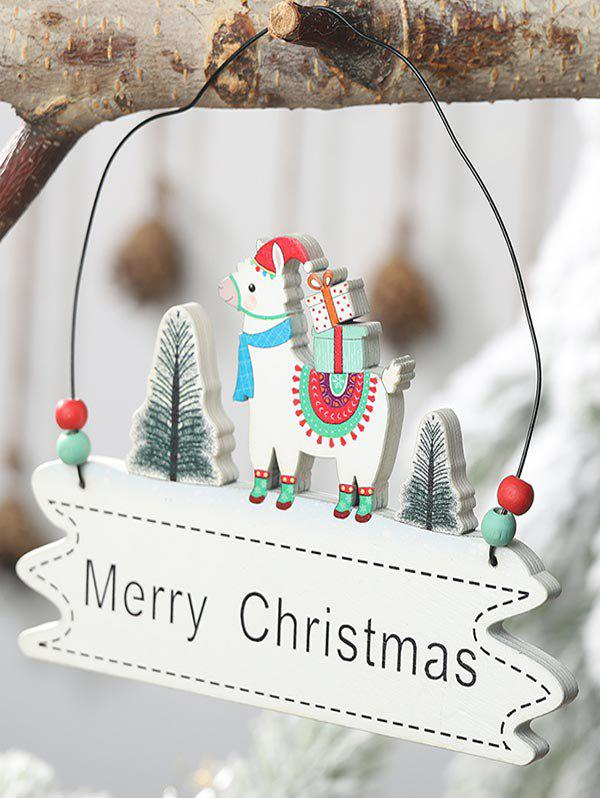 Shop Merry Christmas Tree Sheep Hanging Decoration