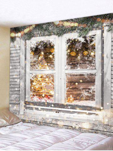 Decoration | Christmas | Tapestry | Window | Wooden | Print | Hang | Wall | Art