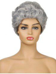Curly Synthetic Short Wig -