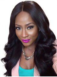 Synthetic Long Body Wavy Center Part Wig -