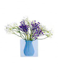 2PCS Silicone 3D Vase Wall Stickers -