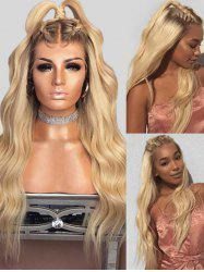 Synthetic Ombre Long Wavy Wig -