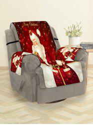Christmas Santa Claus Gifts Greeting Pattern Couch Cover -