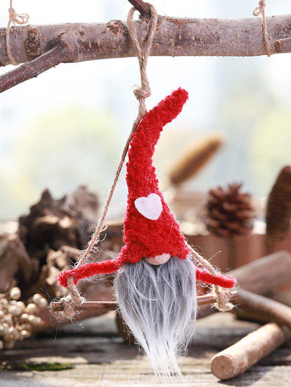Buy Christmas Ornaments Heart Faceless Hanging Doll
