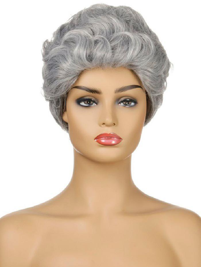 Chic Curly Synthetic Short Wig
