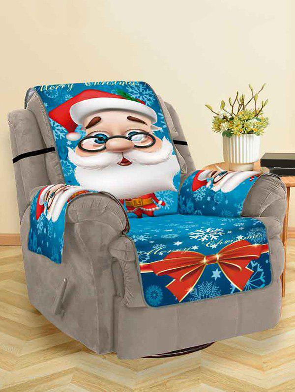 Cartoon Père Noël Couch Couverture Multi Siège unique