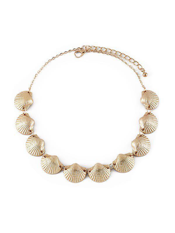 Fancy Alloy Shell Necklace