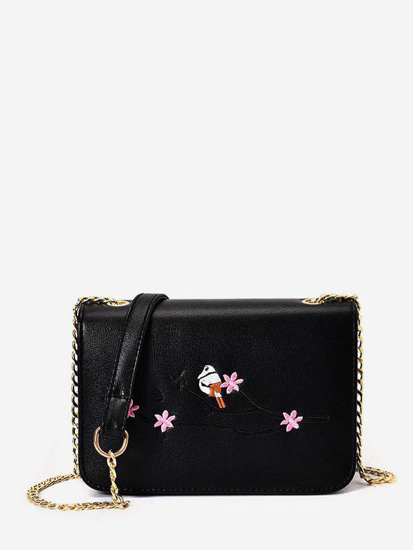 Best Embroidery Chain Small Crossbody Bag