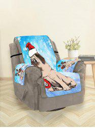 Christmas Puppy Couch Cover -