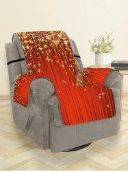 Christmas Stars Pattern Couch Cover -