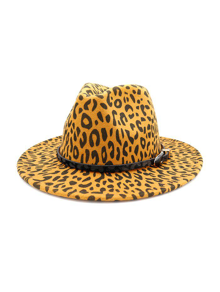 Latest Vintage Leopard Printed Jazz Hat