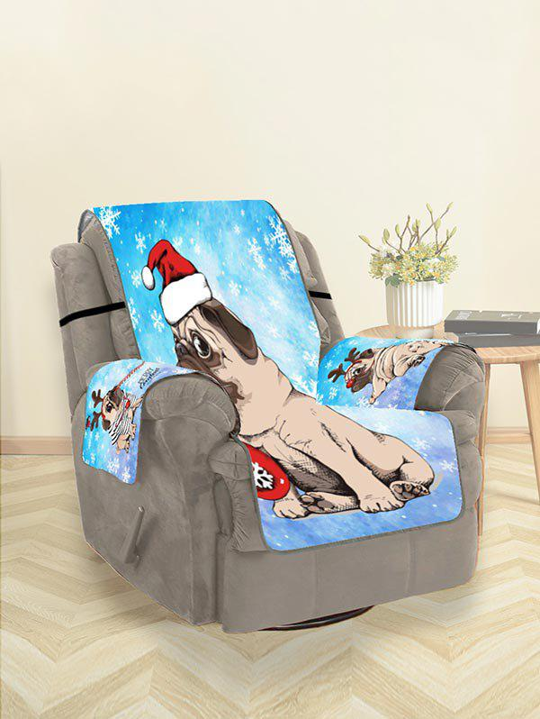 Discount Christmas Puppy Couch Cover