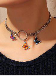 3D Butterfly Chain Necklace -