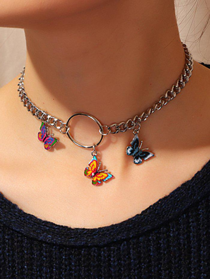 Sale 3D Butterfly Chain Necklace