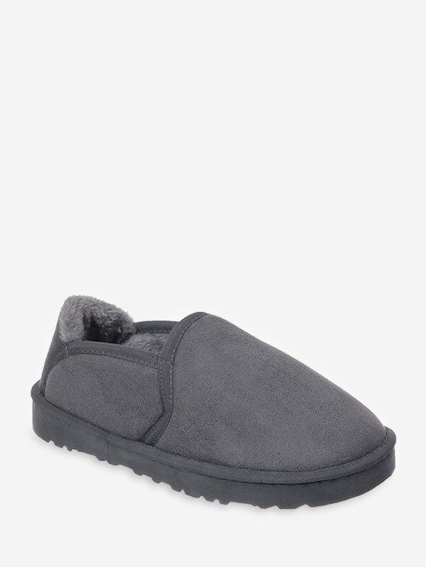 Solide Couleur Suede Low Top Chaussures chaudes
