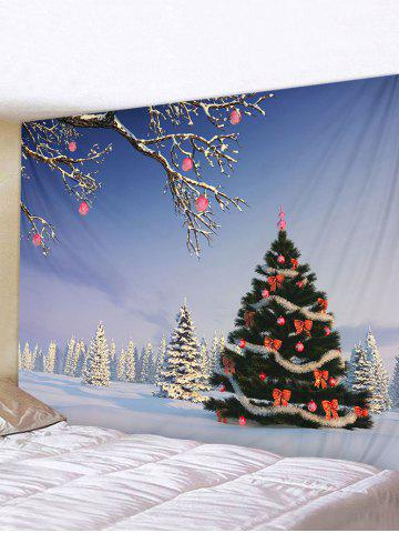 Christmas | Tapestry | Snow | Tree