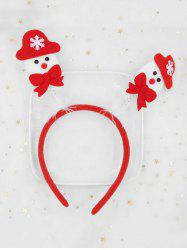 Christmas Snowman Children Hair Band -