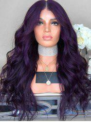 Wavy Center Parting Long Synthetic Wig -