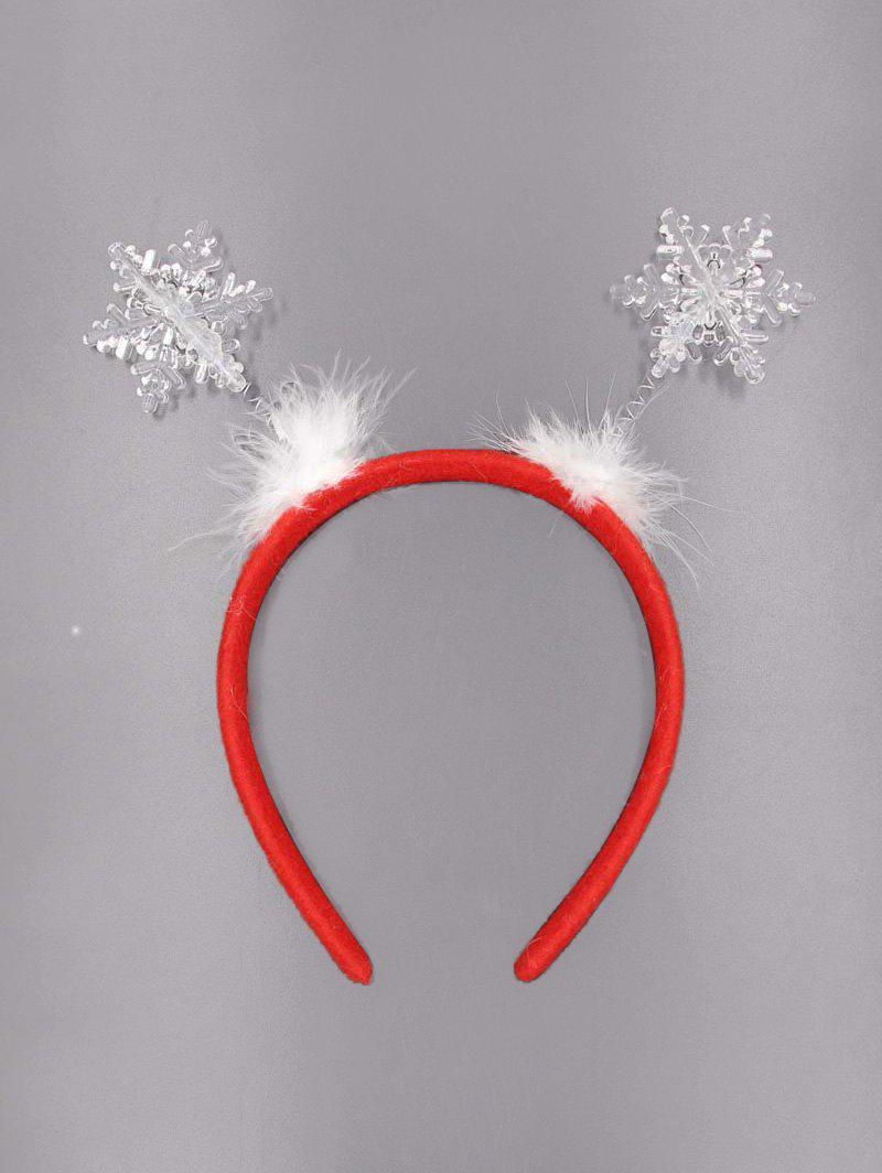 Latest Snowflake Pattern Feather Hair Band