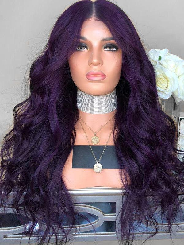 Outfits Wavy Center Parting Long Synthetic Wig