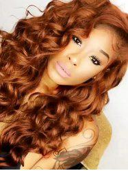 Curly Long Synthetic Wig -