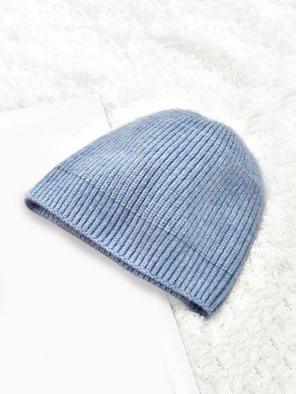 Unique Solid Winter Knitted Skullcap Hat