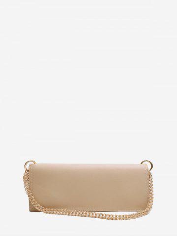 Long Solid Chain Shoulder Bag