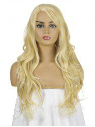 Solid Side Part Long Straight Synthetic Wig -